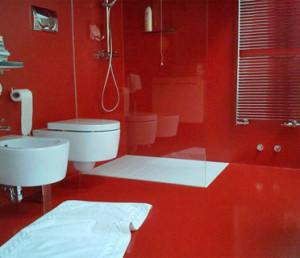 Bagni in resina lavorazioni in resina - Resina per pareti bagno ...
